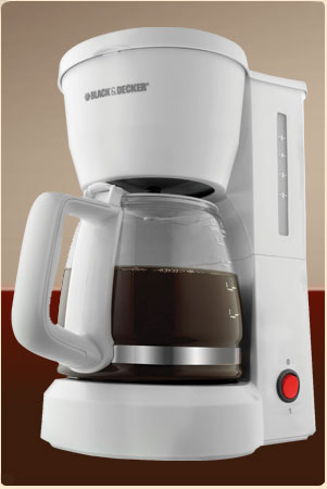 Basic but Solid: Black & Decker DCM600W Coffee Maker