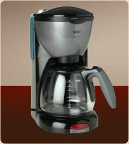 Braun KF550-BK AromaDeluxe 10-Cup Coffee Maker