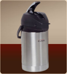 BUNN 32125.0000 2.5 Liter Lever-Action Airpot