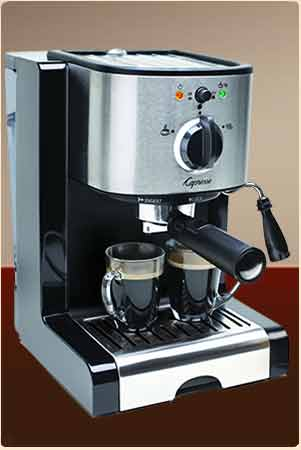 Capresso EC100 Espresso and Cappuccino Machine