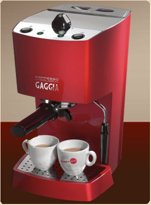 Beautiful Gaggia Espresso Color
