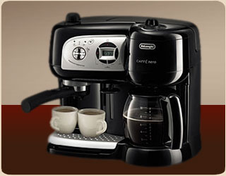 Delonghi BCO264B Esclusivo Cafe Nero Combo Coffee and Espresso Maker