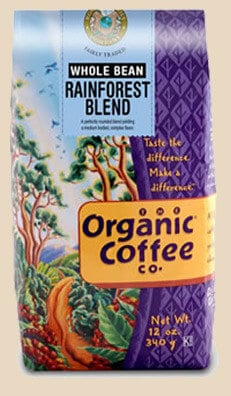 Rogers Family Coffee - Rainforest Blend Coffee - 100% Organic